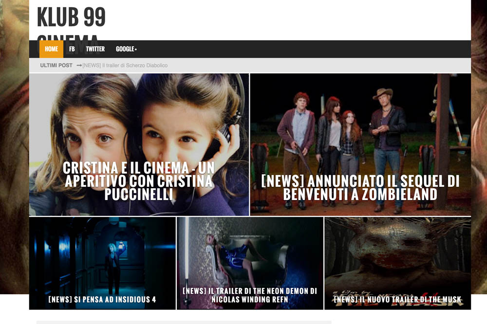 Cristina Puccinelli - Klub 99 Cinema
