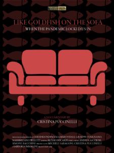 Come pesci rossi sul divano - Locandina A - Inglese - Cristina Puccinelli