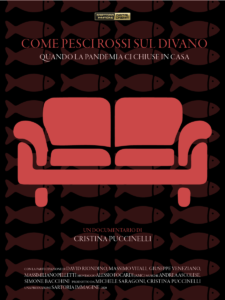 Come pesci rossi sul divano - Locandina A - Italiano - Cristina Puccinelli