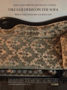 Come pesci rossi sul divano - Locandina B - Inglese - Cristina Puccinelli